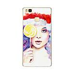 For Huawei P9 P9 lite P8 P8 lite Christmas girl TPU Soft Case Cover