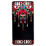 For HUAWEI P8Lite Y5II Y6II Case Cover Dreamcatcher Pattern Black TPU Material Phone Shell