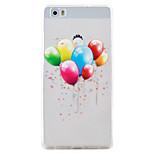 Balloon Pattern High Permeability TPU Material Phone Case Hawei P9Lite P8Lite  Y5II  Y6II