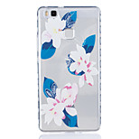 Lily Pattern Tpu Material Highly Transparent Phone Case For Huawei P9 P9 Plus Y5II Y6II