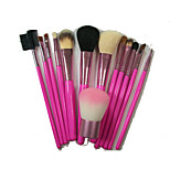 13 Makeup Brushes Set Synthetic Hair Portable Wood Face / Send Package