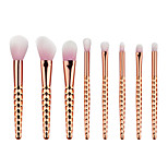8pcsContour Brush / Makeup Brushes Set / Blush Brush / Eyeshadow Brush / Brow Brush / Concealer Brush / Powder Brush / Foundation Brush /