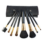 8pcs Makeup Brushes Set Goat Hair / Nylon Professional / Portable Wood Face / Eye / Lip