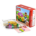 Building Blocks For Gift  Building Blocks Rabbit / Car Plastic Above 3 Rainbow Toys