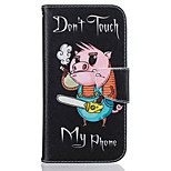 Piggy Pattern Leather PU Leather Material Leather Phone Case for  Motorola Moto G4 Plus / MOTO G4