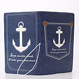 PVC cowboy style stereoscopic Travel Passport Holder & ID Holder Waterproof / Dust Proof / Portable Travel Storage PU Leather