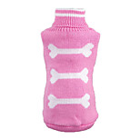 Lovely Bone Pattern Dogs Sweater for Pets Puppy Dogs(Assorted Sizes and Colours)