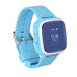 Children waterproof watch No slot Sim Card Bluetooth 2.0 Android Chamadas com Mão Livre 128MB Áudio