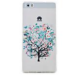 Butterfly Tree Pattern High Permeability TPU Material Phone Case Hawei P9Lite P8Lite  Y5II  Y6II