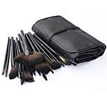 32pcs Set di pennelli Pennello di nylon Professionale / Portatile Legno Viso / Occhi / Labbro Altro