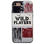 For iPhone 7 Case / iPhone 7 Plus Case / iPhone 6 Case Pattern Case Back Cover Case Word / Phrase Soft TPU AppleiPhone 7 Plus / iPhone 7