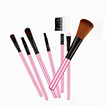 7 Blush Brush / Eyeshadow Brush / Brow Brush / Powder Brush Horse / Synthetic Hair Professional / Travel Wood Eye Others