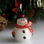 noël cicatrice bonhomme de neige réveillon de noël bougie 5cm