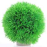 Aquarium Dekoration Wasserpflanze Plastik Grün