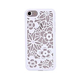 For iPhone 7 Case / iPhone 7 Plus Case / iPhone 6 Case Pattern Case Back Cover Case Flower Hard PC AppleiPhone 7 Plus / iPhone 7 / iPhone