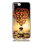 Balloon Image Pattern HD Painted TPU Material Phone Shell For iPhone 7 7 Plus 6s 6 Plus