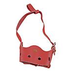 Perros collar de la corteza Antiladrido / Ajustable/Retractable Sólido Rojo / Negro / Azul / Marrón / Rosado Piel Genuina
