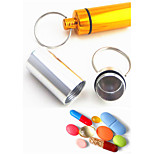 Key Chain Cylindrical High Quality Key Chain / Multifunction Rainbow Metal / Aluminium