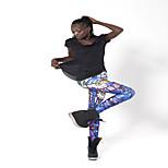 Corsa Pantaloni Per donna Traspirante Cotone Yoga / Corsa Sportivo Anelastico Taglia piccolaAbbigliamento per il tempo libero / Attività