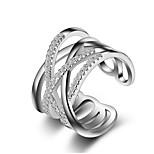 Кольца на вторую фалангу Классические кольца Кольцо на кончик пальца Кристалл Имитация Алмазный Уникальный дизайн Любовь Мода Кроссовер