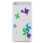 Windmill Pattern TPU Protection Material Phone Case for Huawei Huawei Y5 II Honor 5A Y6 II P9 Lite P8 Lite