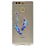Feather Pattern High Permeability TPU Material Phone case forHuawei P9 Lite P9 P9 Plus  P8 Lite Honor V8  Honor 8