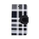 Irregular Plaid PU Leather Case for iphone7