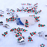 5Pcs  Nail art act the role ofing is tasted lovely Christmas hat