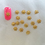 50Pcs Golden Hexagonal Snowflakes Nail Art Act The Role Ofing Is Tasted  Exquisite Easy Operation