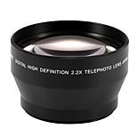 67mm 2.2x Telephoto Tele Lens for Canon EOS 550D 600D 650D 700D 60D 70D 18-135mm Lens Nikon 18-105mm Lens