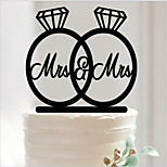 Acrylic Wedding Decorations-1Piece/Set Non-personalized
