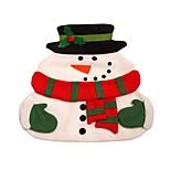 novas pastilhas de tapete placemats Noel boneco esteira de lugar natal de Santa com guardanapos de mesa jantar de Natal fornece decorações