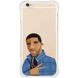 Per Custodia iPhone 6 / Custodia iPhone 6 Plus / Custodia iPhone 5 Resistente agli urti / Transparente / Fantasia/disegno Custodia