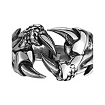 Halloween Gifts Men Punk Crab Claw Rings 316L Stainless Steel Biker Rock Finger Rings Male Fashion Jewelry Unique Design