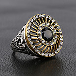 RingBand RingsJewelry Alloy / Silver Plated Fashionable / Punk Style Daily / Casual Silver 1pc8 / 9 / 8 / 9 Women / Men