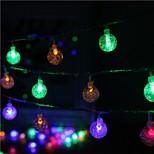 40 geleide 5m ster licht waterdichte plug outdoor decoratie licht kerst vakantie geleid snaar licht