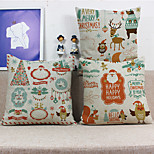 1PC Household Articles Back Cushion Novelty Originality Christmas Fashionable Single Pillow Case