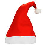 10pcs/lot Adult Ordinary Christmas Hats Santa Hats Children Cap for Christmas Party Props