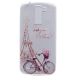 For LG K10 K8 Transparent Pattern Case Back Cover Case Eiffel Tower Soft TPU K7 Nexus 5X X Power