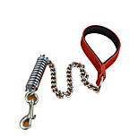 Dog Leash Training / Padded Solid Red / Black / White / Gold Nylon / PU Leather