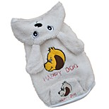 Pet Dog Clothes Rabbit Style Autumn Winter Pets Coats Velvet Puppy Dog Hooded Clothes