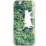 Per Custodia iPhone 6 / Custodia iPhone 6 Plus / Custodia iPhone 5 Fantasia/disegno Custodia Custodia posteriore Custodia Gatto Resistente