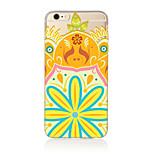 Per Traslucido / Fantasia/disegno Custodia Custodia posteriore Custodia Fiori Mandala Morbido TPU AppleiPhone 7 Plus / iPhone 7 / iPhone