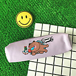 Cartoon Animal Cylinder Pen Bag