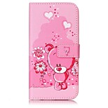 Para Funda iPhone 7 / Funda iPhone 7 Plus Soporte de Coche / con Soporte / Flip / En Relieve / Diseños Funda Cuerpo Entero Funda Animal