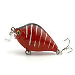 1 pcs Vibración Vibración Verde / Blanco / Amarillo / Morado / Rojo 8.4 g Onza mm pulgada,Plástico duro Pesca de baitcasting