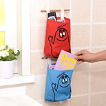 Home Wall Wardrobe Solid color Hang Bag For Kitchen Cloth Saddlebag(Random colours)