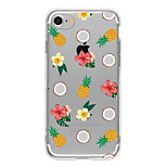 Para Capinha iPhone 7 / Capinha iPhone 7 Plus / Capinha iPhone 6 Estampada Capinha Capa Traseira Capinha Fruta Macia TPU AppleiPhone 7