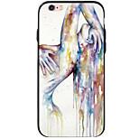 Für iPhone 6 Hülle / iPhone 6 Plus Hülle / iPhone 5 Hülle Muster Hülle Rückseitenabdeckung Hülle Sexy Lady Weich Acryl AppleiPhone 6s