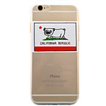 Per Custodia iPhone 6 / Custodia iPhone 6 Plus / Custodia iPhone 5 Transparente / Fantasia/disegno Custodia Custodia posteriore Custodia